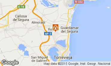 Carte Alicante Maison 101162