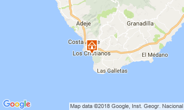 Carte Los Cristianos Appartement 113441