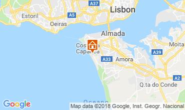 Carte Caparica Villa 116278