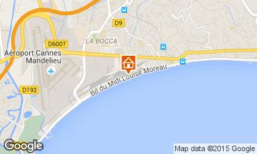 Carte Cannes Appartement 30867