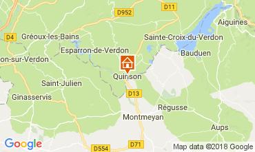 Carte Sainte-Croix-du-Verdon Appartement 65232