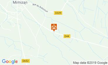 Carte Mimizan Mobil-home 117852