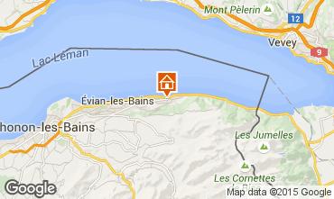 Carte Evian les Bains Maison 98117