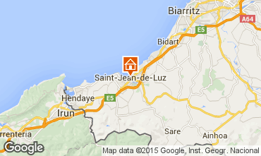 Carte Saint Jean de Luz Appartement 47679