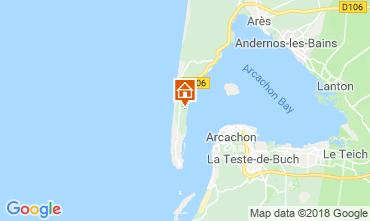 Carte Lège Cap Ferret Villa 116115
