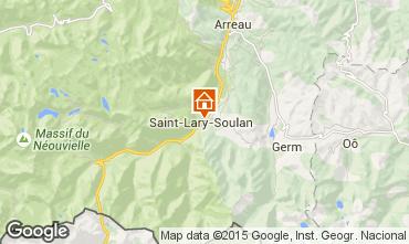 Carte Saint Lary Soulan Appartement 4401