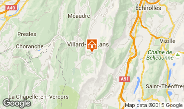 Carte Villard de Lans - Corren�on en Vercors Appartement 88279
