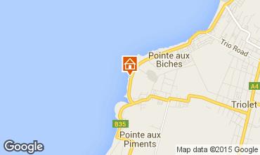 Carte Trou-aux-biches Villa 45465