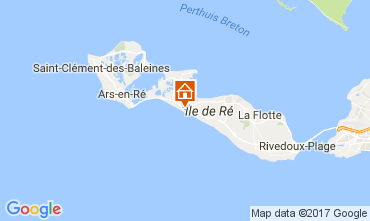 Carte La Couarde-sur-Mer Appartement 108370