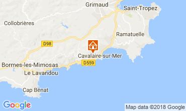 Carte Saint Tropez Villa 114004