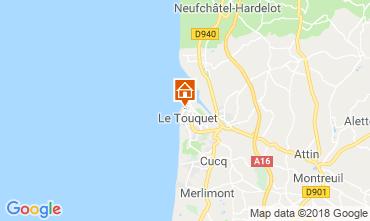 Carte Le Touquet Studio 117441