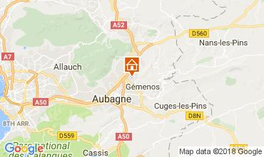 Carte Aubagne Bungalow 112975