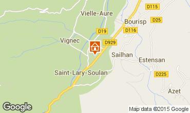 Carte Saint Lary Soulan Appartement 16744