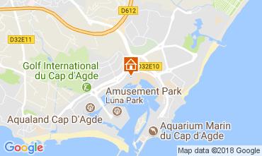Carte Cap d'Agde Studio 113022