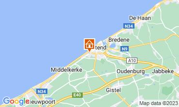 Carte Ostende Chambre d'hôte 72510