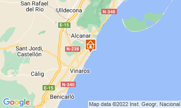 Carte Vinaroz Villa 66989
