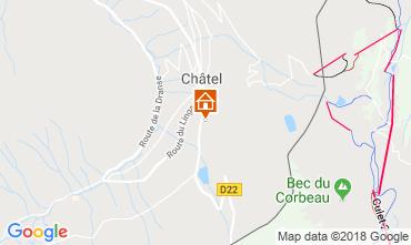Carte Châtel Chalet 73726