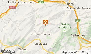 Carte Le Grand Bornand Appartement 75054