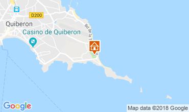 Carte Quiberon Mobil-home 112563