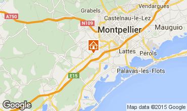 Carte Montpellier Villa 93493