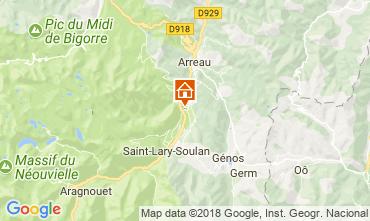 Carte Saint Lary Soulan Appartement 114780