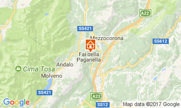 Carte Andalo - Fai della Paganella Appartement 104639