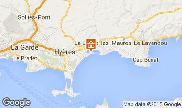 Carte Hyères Appartement 5831