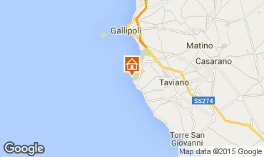 Carte Gallipoli Villa 95636
