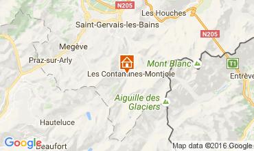 Carte Les Contamines Montjoie Chalet 107147