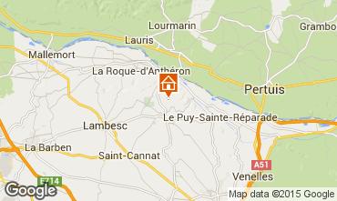 Carte Aix en Provence Villa 11926
