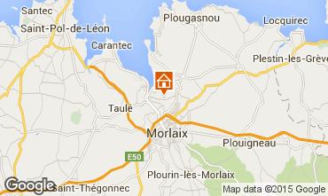 Carte Morlaix Gite 8860