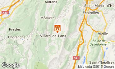 Carte Villard de Lans - Corrençon en Vercors Chalet 3641