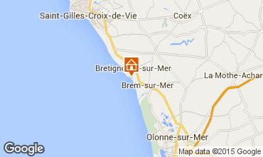 Carte Bretignolles sur mer Maison 94166