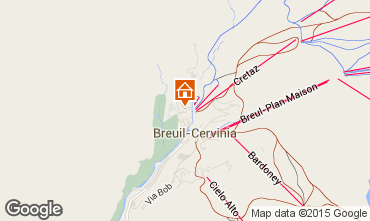 Carte Cervinia (Breuil) Studio 71065