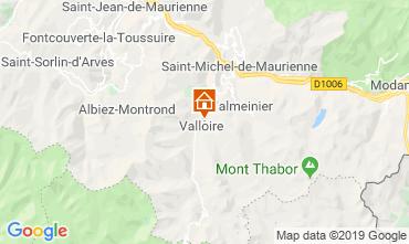 Carte Valloire Chalet 116466
