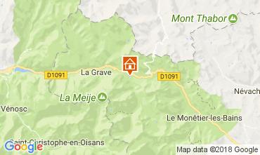 Carte Villar-d'Arêne Chalet 113346