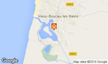 Carte Vieux Boucau Appartement 40953