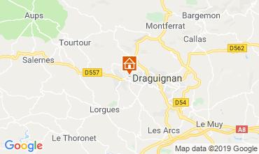 Carte Draguignan Villa 98537