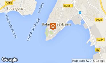 Carte Balaruc les Bains Appartement 38789