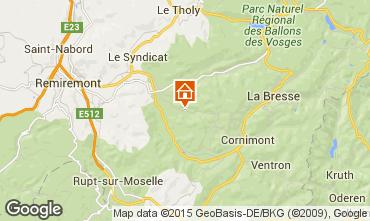 Carte La Bresse Maison 65781
