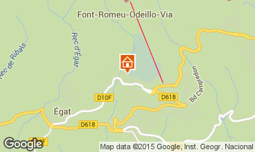 Carte Font Romeu Appartement 42828