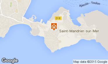 Carte Saint Mandrier sur Mer Appartement 60112