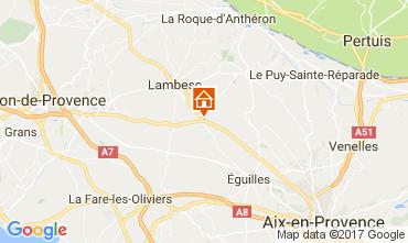 Carte Aix en Provence Villa 108314