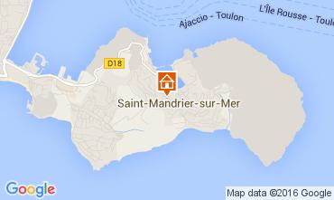 Carte Saint Mandrier sur Mer Appartement 105934