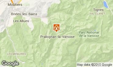 Carte Pralognan la Vanoise Chalet 44318