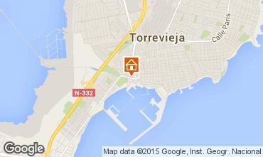 Carte Torrevieja Appartement 46400