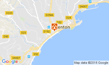 Carte Menton Appartement 113300