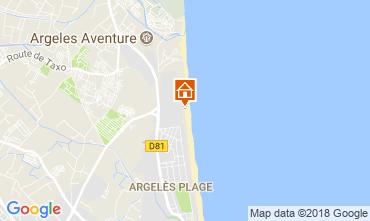 Carte Argeles sur Mer Appartement 113717
