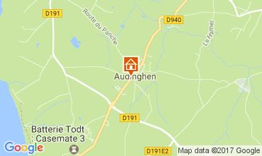 Carte Audinghen Villa 109514