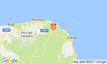 Carte Vieste Villa 109613